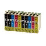 Whitebox Set 10 Patronen für Epson  T1631-T1634