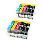 Whitebox Set 10 Patronen für Canon PGI5 CLI8
