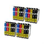 Whitebox Set 20 Patronen für Epson T1281-T1284