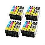Whitebox Set 20 Patronen für Epson T0711-T0714