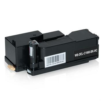 Toner für DELL C1660 7C6F7 593-11130, Black