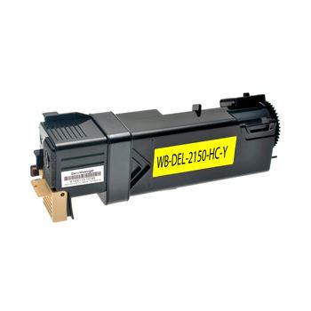 Toner für DELL 2150 9X54J 593-11037, Yellow