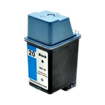 Logic-Seek  Tintenpatrone kompatibel zu HP 20 C6614DE XL Schwarz
