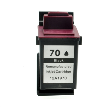 Logic-Seek  Tintenpatrone kompatibel zu Lexmark 70 12A1970E XL Schwarz