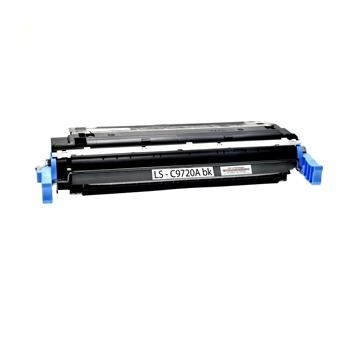 Logic-Seek  Toner kompatibel zu HP 4600 641A C9720A HC Schwarz