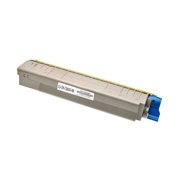 Logic-Seek  Toner kompatibel zu OKI C8600 C8800 43487712 HC Schwarz
