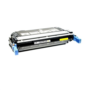 Logic-Seek  Toner kompatibel zu HP 4730 644A Q6462A HC Yellow