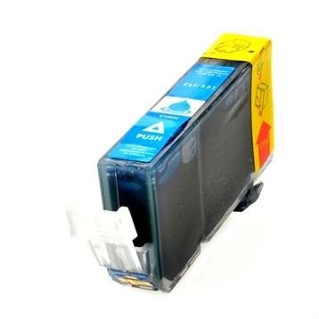 Logic-Seek  Tintenpatrone kompatibel zu Canon CLI-521C 2934B001 XL Cyan