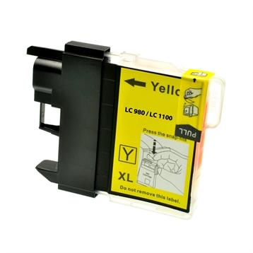 Logic-Seek  Tintenpatrone kompatibel zu Brother LC-1100Y XL Yellow