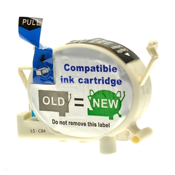 Logic-Seek  Tintenpatrone kompatibel zu Epson Stylus C84 T0431 C13T04314010 XL Schwarz