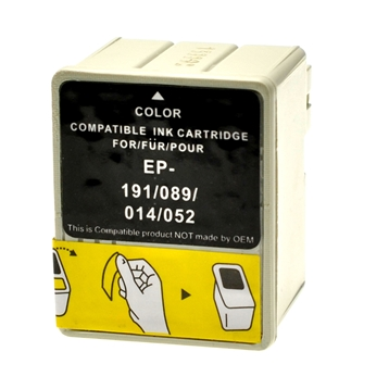 Logic-Seek  Tintenpatrone kompatibel zu Epson Stylus 480 T014 C13T01440110 XL Color