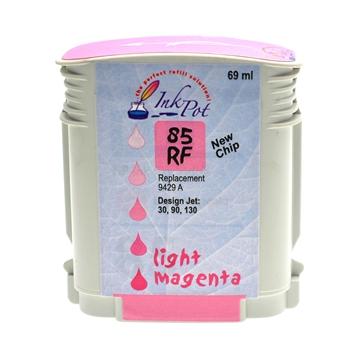 Logic-Seek  Tintenpatrone kompatibel zu HP 85 C9429A XL Photo Magenta
