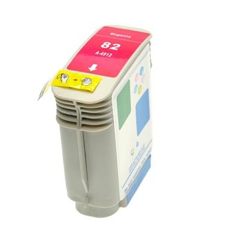 Logic-Seek  Tintenpatrone kompatibel zu HP 82 C4912A XL Magenta