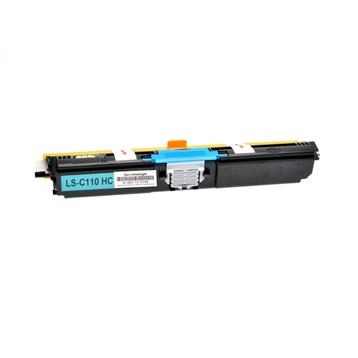 Logic-Seek  Toner kompatibel zu OKI C110 C130 44250723 HC Cyan