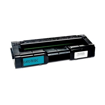 Logic-Seek  Toner kompatibel zu Kyocera TK-150C 1T05JKCNL0 HC Cyan