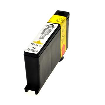 Logic-Seek  Tintenpatrone kompatibel zu Lexmark 100XLA 14N1095E XL Yellow