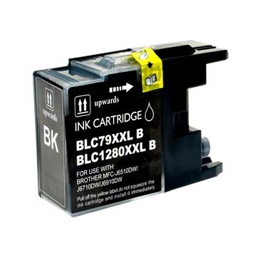 Logic-Seek  Tintenpatrone kompatibel zu Brother LC-1280XLBK XXL Schwarz