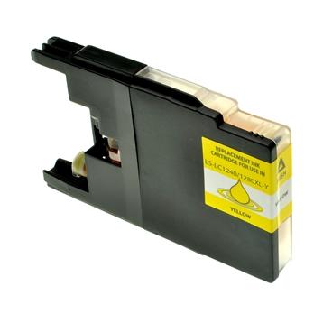 Logic-Seek  Tintenpatrone kompatibel zu Brother LC-1240Y XL Yellow