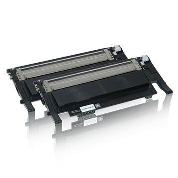 Logic-Seek 2 Toner kompatibel zu Samsung CLP-320 K4072S CLT-K4072S/ELS HC Schwarz