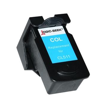 Logic-Seek 4 Tintenpatronen kompatibel zu Canon PG-510 CL-511 XL