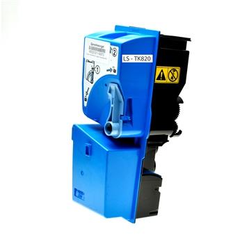 Logic-Seek  Toner kompatibel zu Kyocera TK-820C 1T02HPCEU0 HC Cyan