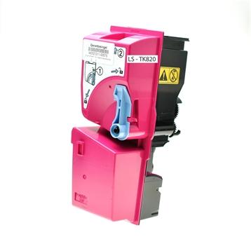 Logic-Seek  Toner kompatibel zu Kyocera TK-820M 1T02HPBEU0 HC Magenta