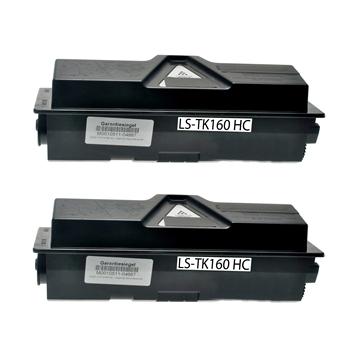 Logic-Seek 2 Toner kompatibel zu Kyocera TK-160 1T02LY0NL0 HC Schwarz