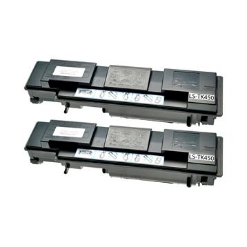 Logic-Seek 2 Toner kompatibel zu Kyocera TK-450 1T02J50EU0 HC Schwarz