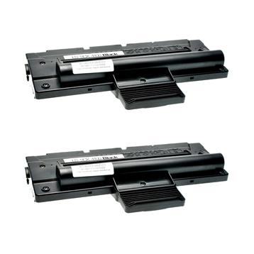 Logic-Seek 2 Toner kompatibel zu Samsung SCX-4016 SCX-4100 SCX-4100D3/ELS HC Schwarz