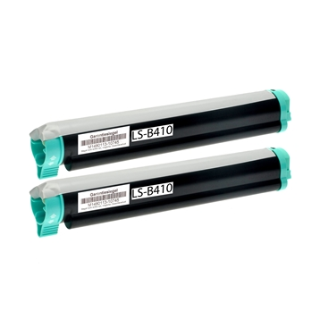 Logic-Seek 2 Toner kompatibel zu OKI B410 B430 43979102 HC Schwarz