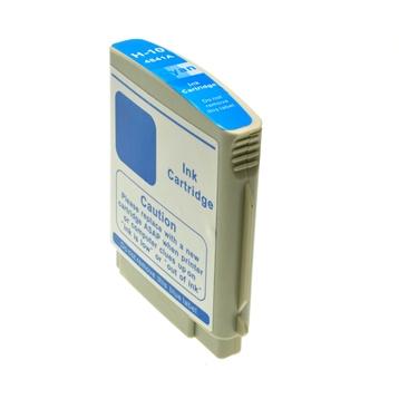 Logic-Seek  Tintenpatrone kompatibel zu HP 10 C4841AE XL Cyan