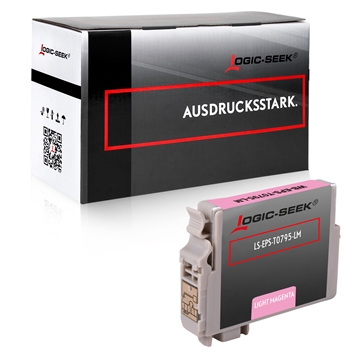 Logic-Seek  Tintenpatrone kompatibel zu Epson Stylus 1400 T0796 C13T07964010 XL Photo Magenta