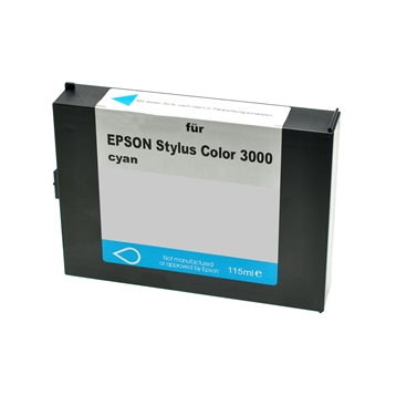 Logic-Seek  Tintenpatrone kompatibel zu Epson Stylus 3000 C13S020130 XL Cyan