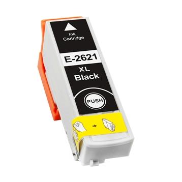 Logic-Seek 4 Tintenpatronen kompatibel zu Epson Stylus XP600 26XL C13T26214010 XL Schwarz