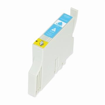 Logic-Seek  Tintenpatrone kompatibel zu Epson Stylus C70 C80 T0322 C13T03224010 XL Cyan