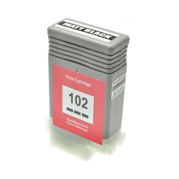 Logic-Seek  Tintenpatrone kompatibel zu Canon PFI-102MBK 0894B001 XL Matt Schwarz