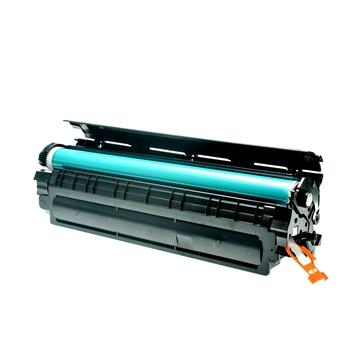 Logic-Seek 3 Toner kompatibel zu HP 35A CB435A HC Schwarz
