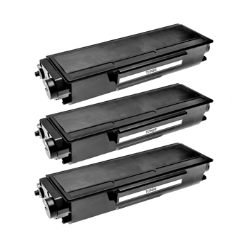 Logic-Seek 3 Toner kompatibel zu Brother TN-3170 HC Schwarz