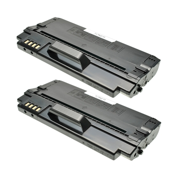 Logic-Seek 2 Toner kompatibel zu Samsung ML-1630 SCX-4500 ML-D1630A/ELS HC Schwarz