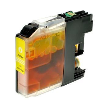 Logic-Seek  Tintenpatrone kompatibel zu Brother LC-125XLY XXL Yellow