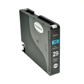 Logic-Seek  Tintenpatrone kompatibel zu Canon PGI-29PC 4876B001 XL Photo Cyan