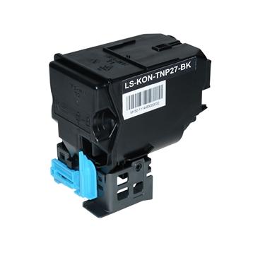 Logic-Seek  Toner kompatibel zu Konica Bizhub TNP-27K A0X5153 HC Schwarz