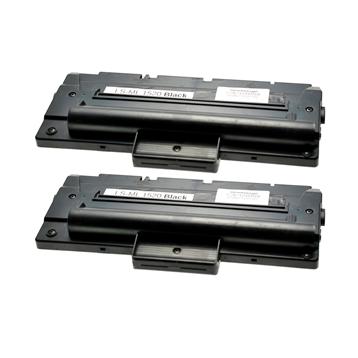 Logic-Seek 2 Toner kompatibel zu Samsung ML-1710 ML-1410 ML-1710D3/ELS HC Schwarz