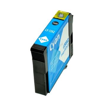 Logic-Seek  Tintenpatrone kompatibel zu Epson Stylus R2000 T1592 C13T15924010 XL Cyan