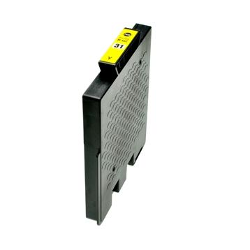 Logic-Seek  Tintenpatrone kompatibel zu Ricoh GC-31Y 405691 XL Yellow