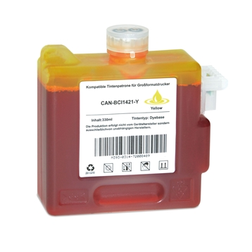 Logic-Seek  Tintenpatrone kompatibel zu Canon BCI-1421Y 8370A001 XL Yellow