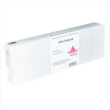 Logic-Seek  Tintenpatrone kompatibel zu Epson Pro 7900 9900 T6363 C13T636300 XL Magenta