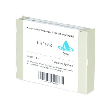 Logic-Seek  Tintenpatrone kompatibel zu Epson Pro 7000 T463 C13T463011 XL Cyan
