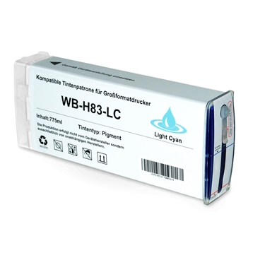 Logic-Seek  Tintenpatrone kompatibel zu HP 83 C4944A XL Photo Cyan
