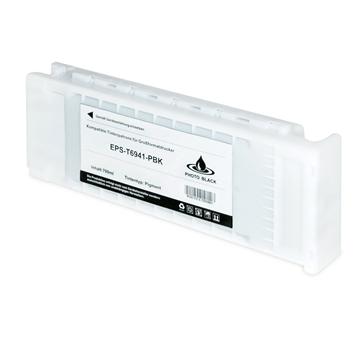 Logic-Seek  Tintenpatrone kompatibel zu Epson SureColor SCT3000 T6941 C13T694100 XL Photo Schwarz